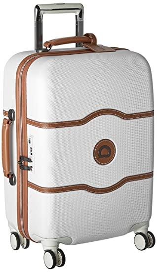 3be05a7829dd Delsey Paris Luggage Chatelet Hard+ Carry On Spinner Suitcase Hardcase with  Lock