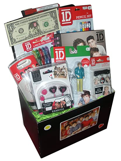 Amazon 1d one direction gift basket perfect for easter 1d one direction gift basket perfect for easter birthday christmas or other occassion negle Choice Image
