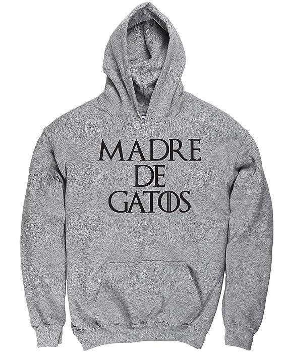 HippoWarehouse Madre de Gatos jersey sudadera suéter derportiva unisex niños niñas: Amazon.es: Ropa y accesorios