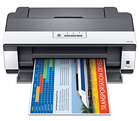 Epson WorkForce 1100 Wide-Format Color Inkjet Printer (C11CA58201)