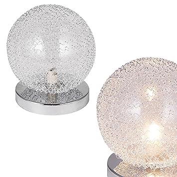 lux.pro] Tischleuchte Tischlampe [Ø14cm] Kugel Lampe Leuchte ...