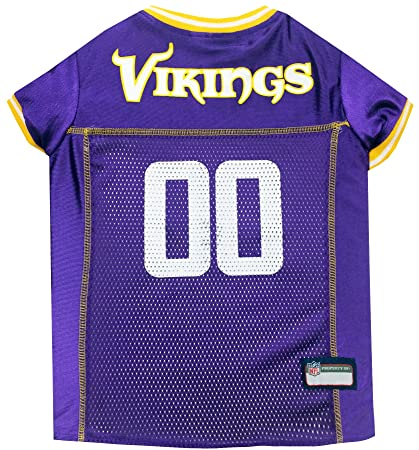 71bd14b52dc2 Amazon.com   NFL MINNESOTA VIKINGS DOG Jersey