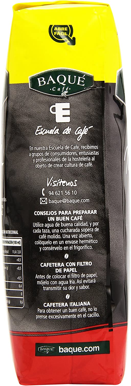 Baqué Café - Mezcla - Café molido - 275 g: Amazon.es: Alimentación ...