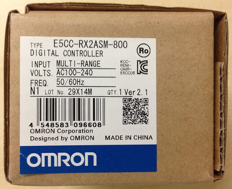 Temperature Controller Omron E5CC-RX2ASM-800 Digital Controller