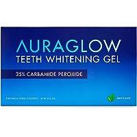 AuraGlow Teeth Whitening Gel Syringe Refill Pack, 35% Carbamide Peroxide, (3) 5ml...