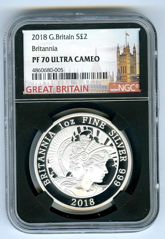 2018 Silver Great Britain Britannia 1 oz