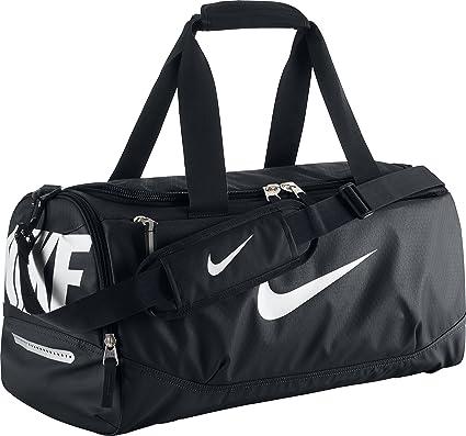 Nike New Team Training Small Duffel Bag Gym RedBlackWhite