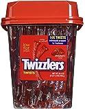 TWIZZLERS Twists (Strawberry, 105-Count)2lb 1.3oz. tub