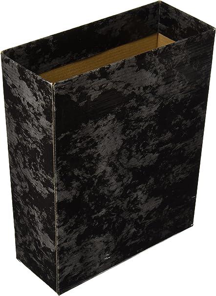 Caja Archivador De Palanca Carton Cuarto Apaisado Serie Classic Azul: Amazon.es: Oficina y papelería