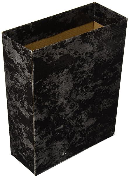 Caja Archivador De Palanca Carton Cuarto Apaisado Serie Classic Azul