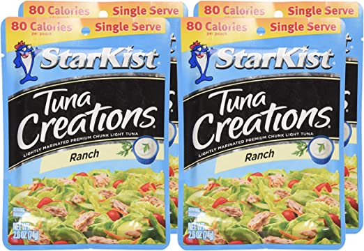 Starkist Atún Creaciones, Ranch, Single Serve 2.6-Ounce ...