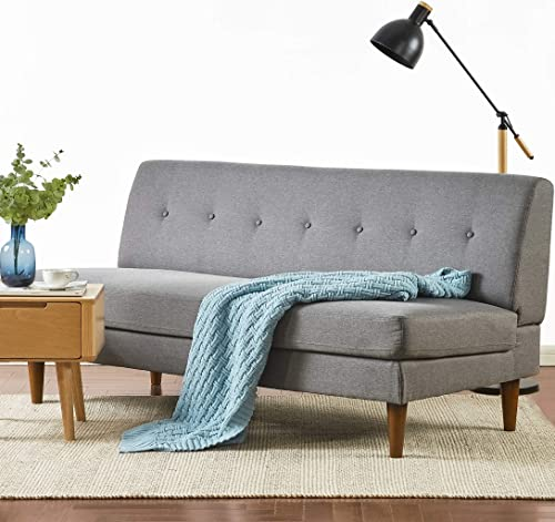 Mellow METTE Modern Armless Loveseat/Sofa/Couch