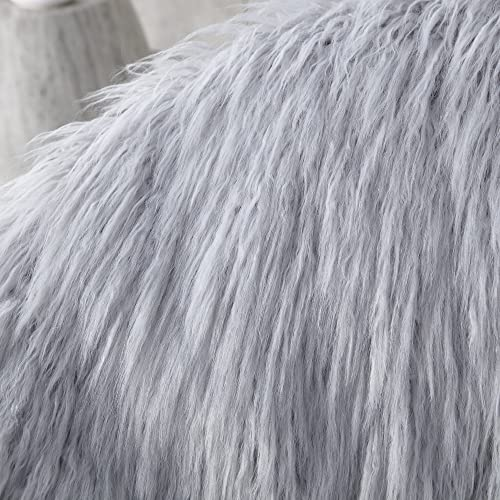 Fur Moon Chair – Glacier Gray