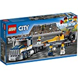 LEGO - 60151 - City - Jeu de construction  - Le Transporteur du Dragster