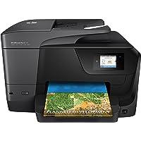 HP Officejet Pro 8710 All-in-One - Impresora multifunción color wifi fax, color negro