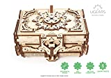 Antique Box Ugears, 3D Mechanical Treasure