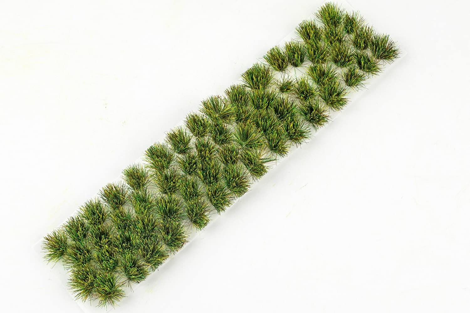 War World Gaming Summer 6mm Self Adhesive Grass Tufts x 68 – Wargaming Terrain Model Diorama Miniatures WWS Scenery Manufacturer spr0046t
