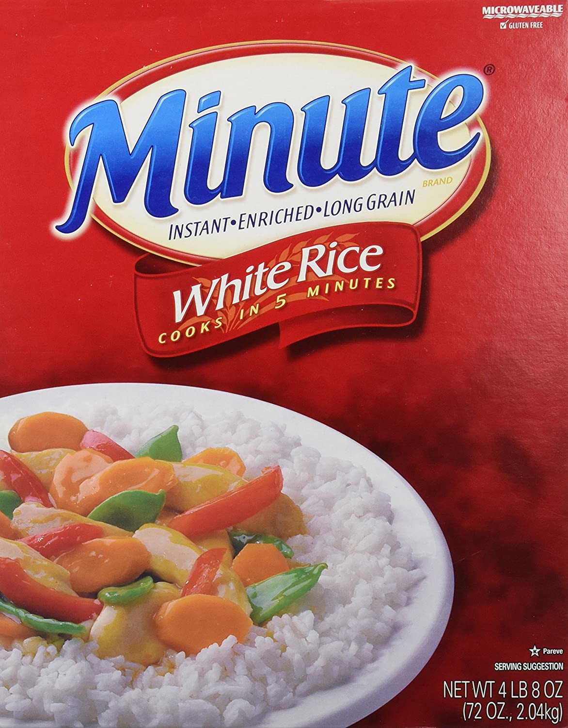 Amazon minute instant enriched long grain white rice 72oz amazon minute instant enriched long grain white rice 72oz dried white rice grocery gourmet food ccuart Choice Image