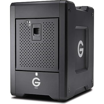 G-Technology 0G10188 - Disco Duro SSD (8 TB, 8 bahías, Raid de 8 ...