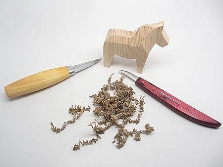 Amazon.com: Morakniv Carving Kit 120 Carving Knife and Rough ...