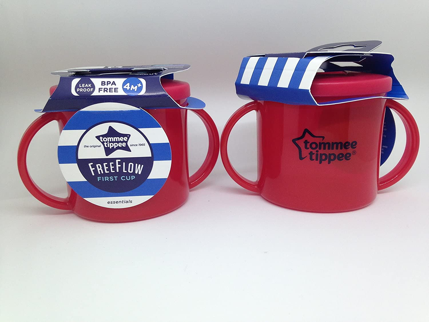 Tommee Tippee First Cup - Pack of 2 (2 x Red)