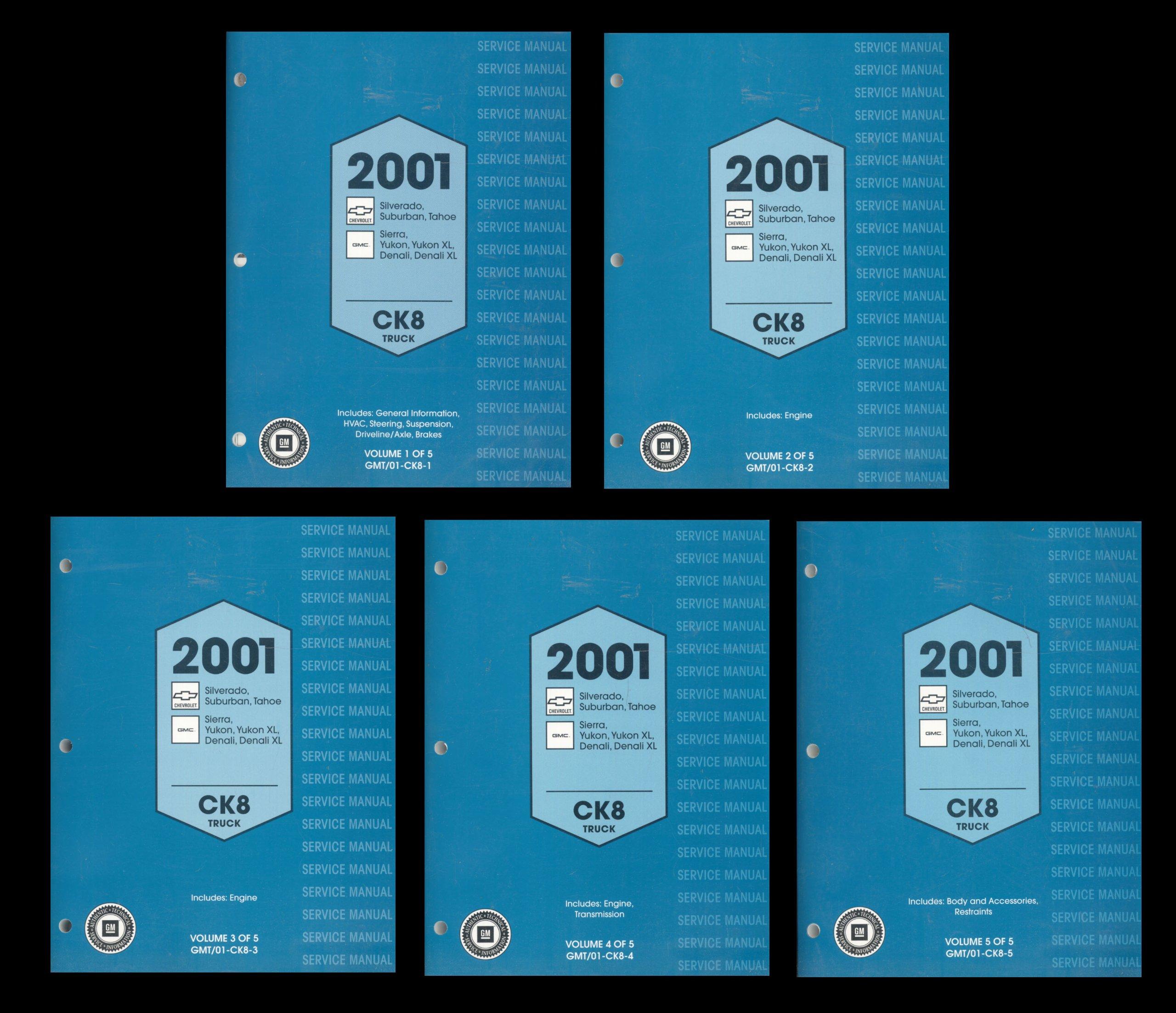 2001 silverado service manual ebook array gm 2001 service manual ck8 truck chevrolet silverado tahoe rh amazon com fandeluxe Choice Image