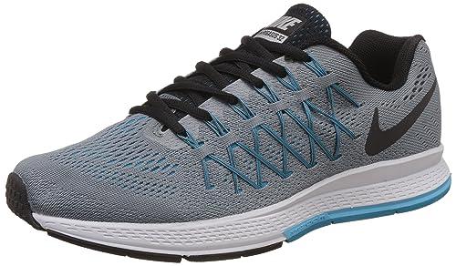 2bb27d85b3cf Nike Men s Air Zoom Pegasus 32 Grey Running Shoes - 10 UK India (45 ...