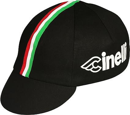 One Size Black Pace Sportswear Cinelli Cap