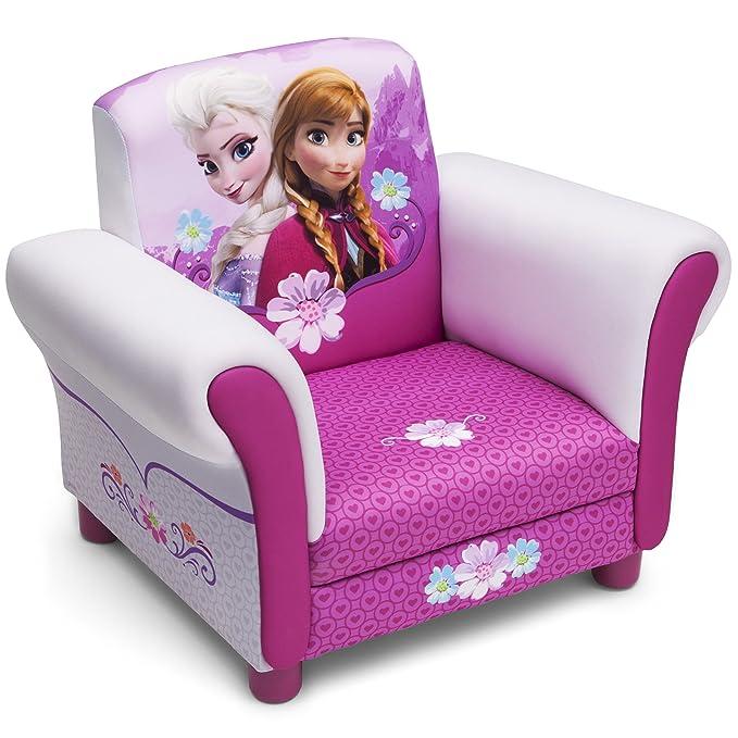 Disney - Sillón tapizado, diseño de Anna y Elsa de Frozen
