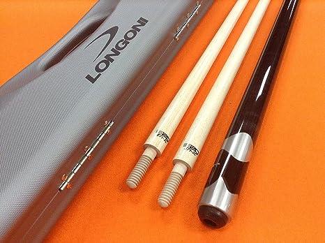 Longoni Carom Cue kasidokostas con S3 cañas.: Amazon.es: Deportes y aire libre