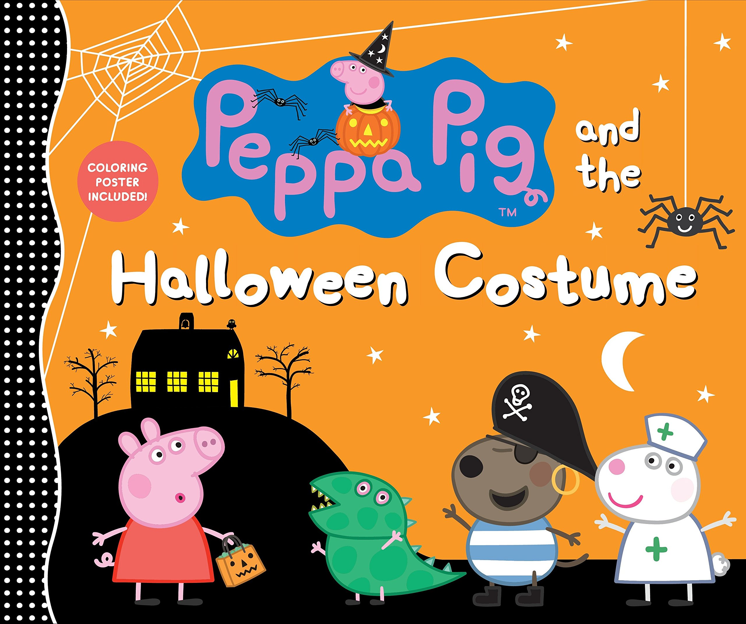 Amazon.com: Peppa Pig and the Halloween Costume (9781536200607): Candlewick  Press: Books