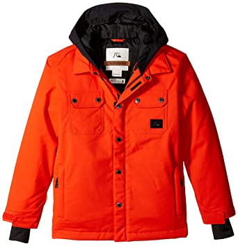 f5e1cc227f7e Amazon.com  Quiksilver Big Boys  Amplify Youth Jacket  Clothing