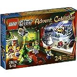 LEGO - 2824 - Jeu de construction - LEGO® City - Le calendrier de l'Avent LEGO® City