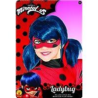 Rubie's-déguisement officiel - Miraculous  - Perruque Ladybug Miraculous - Taille Unique- I-32929