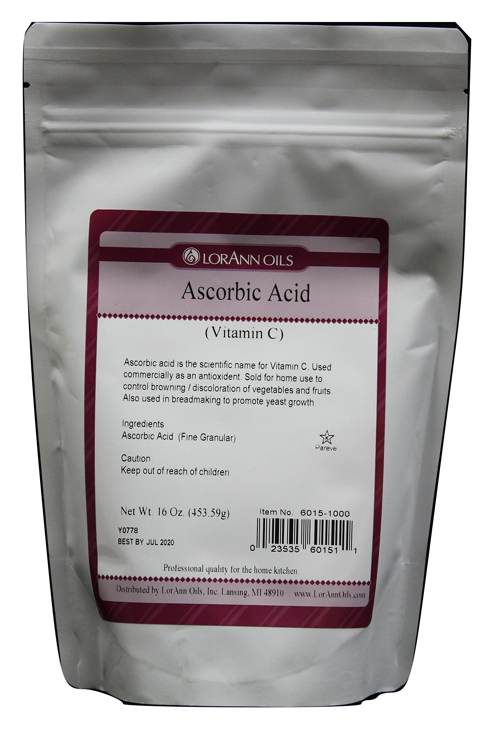 Ascorbic Acid (Vitamin C) 16 Ounce