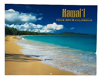 2018 hawaiian calendar 12 month hawaii all island scenes