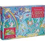 Unicorni. Libro e puzzle. Con adesivi. Ediz. a colori. Con puzzle