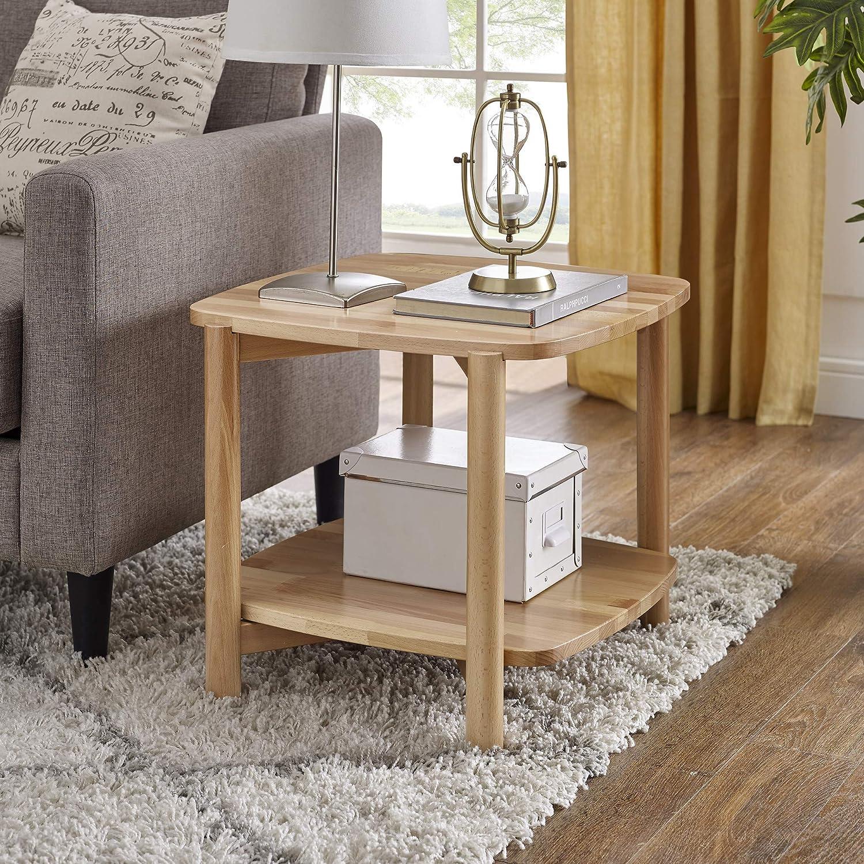 Classic Brands Modern European Side Table, Beech / Natural