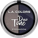 L.A. Colors Duo Tone Eyeshadow, Night Sky, 4.5g