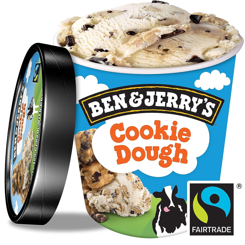 Ben & Jerrys Cookie Dough Helado 500ml: Amazon.es: Alimentación y bebidas