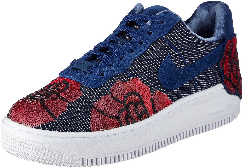 Nike W Air Force Force Force 1 Upsted LX Binary Blau 898421401 Turnschuhe 74c1a1