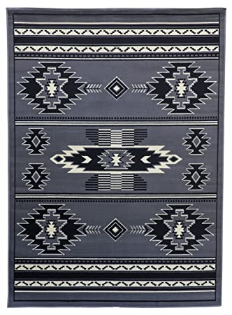 Amazon Com Rugs 4 Less Collection Rustic Southwest Native American
