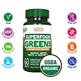 Organic Super Greens Fruit & Vegetable Tablets by