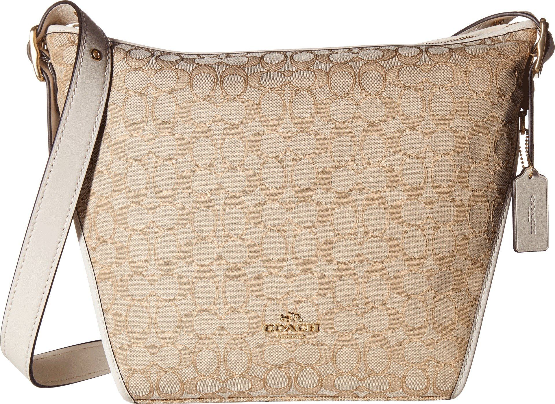 COACH Women's Dufflette in Signature Li/Light Khaki/Chalk One Size