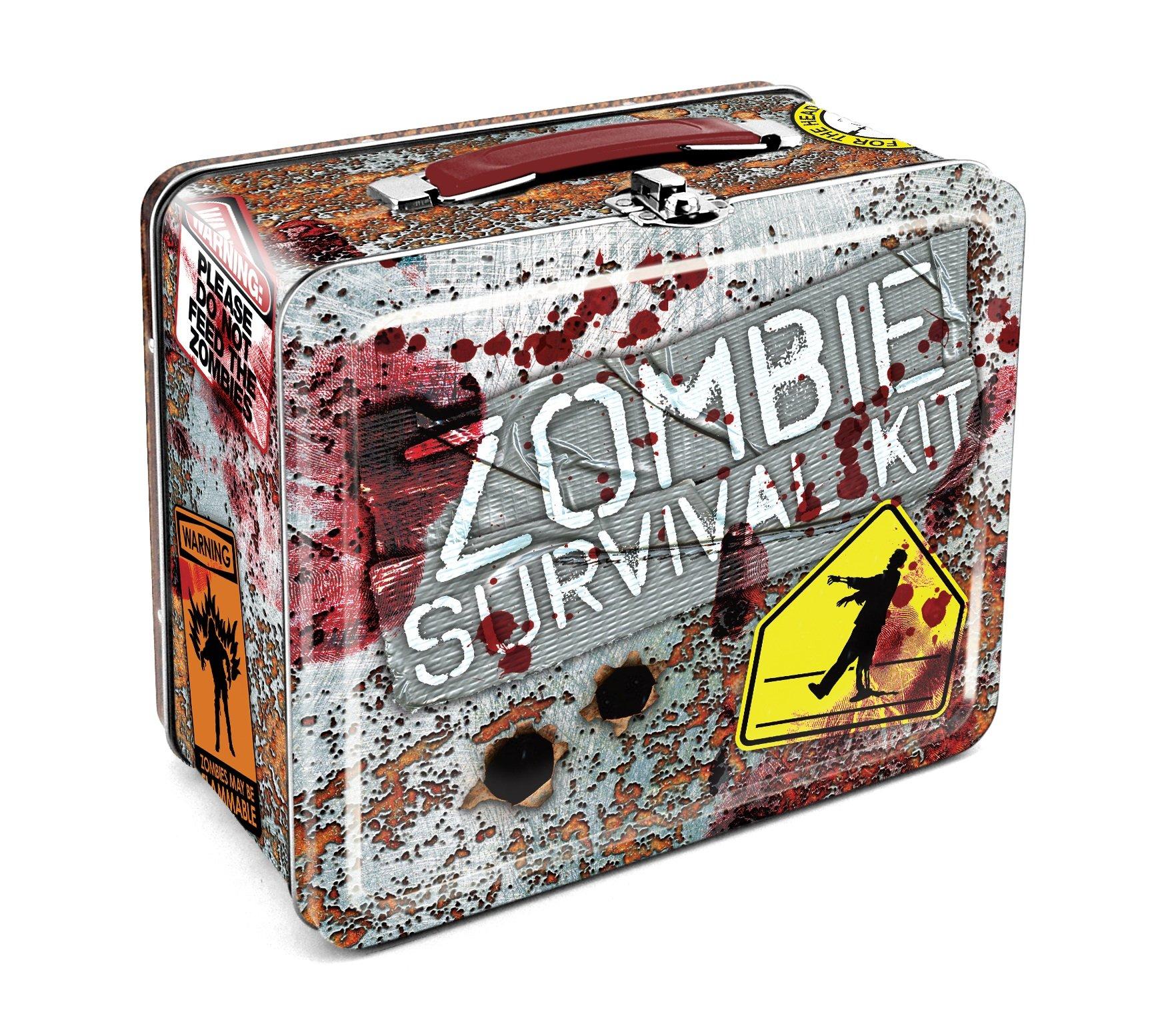 Aquarius Zombie Survival Large Tin Fun Box