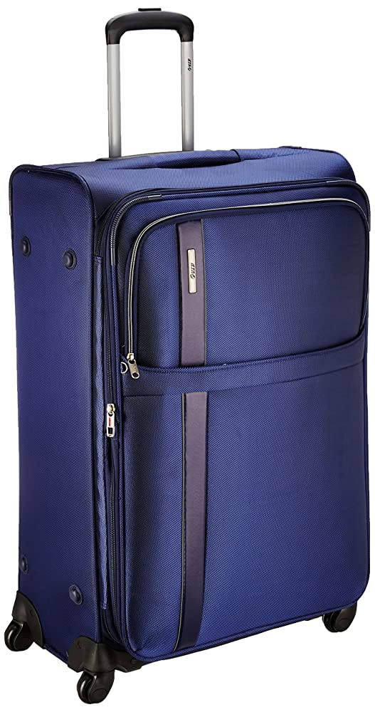[Apply Coupon] VIP Tryst Polyester 55 cms Ink Blue Softsided Cabin Luggage (STTRYW55IBL)