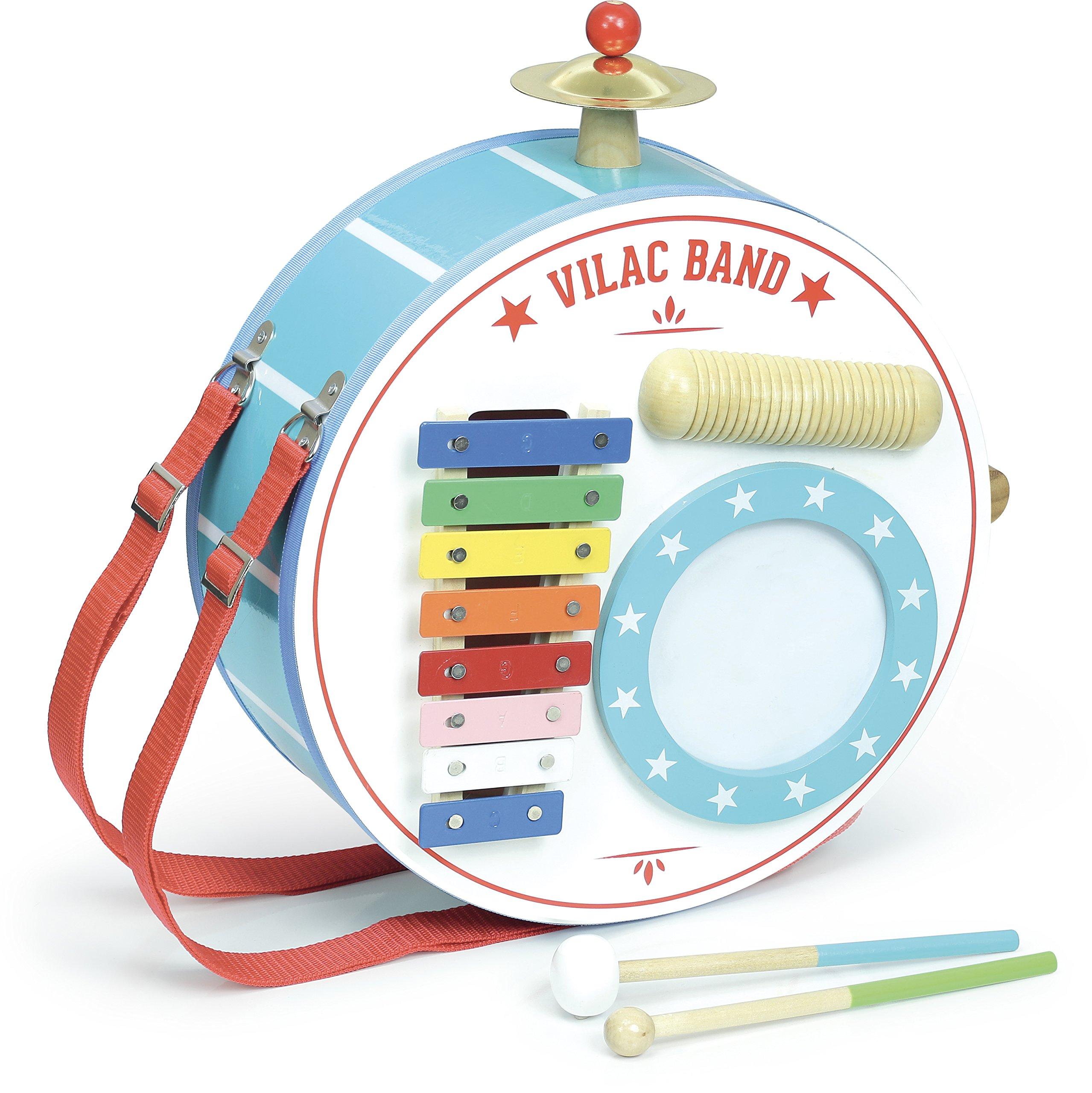 Vilac Vilac8354 One-Man-Band, Multi-Color