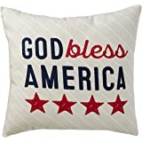Hallmark Home Indoor Outdoor Pillow With Cover God Bless America