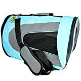 Luxury Soft-Sided Cat Carrier [Airline TSA Approved]- Pet Travel Portable Kennel for, Cats, Small Dogs and Puppies by Pet Magasin
