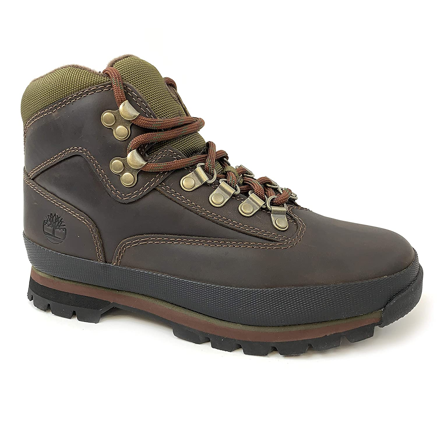 Timberland Euro Hiker Brown Leather Hiking Ankle Boots 95310